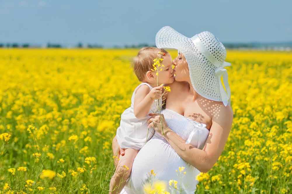 afvallen na de bevalling,zwangerschap